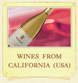 Wine from California (USA)